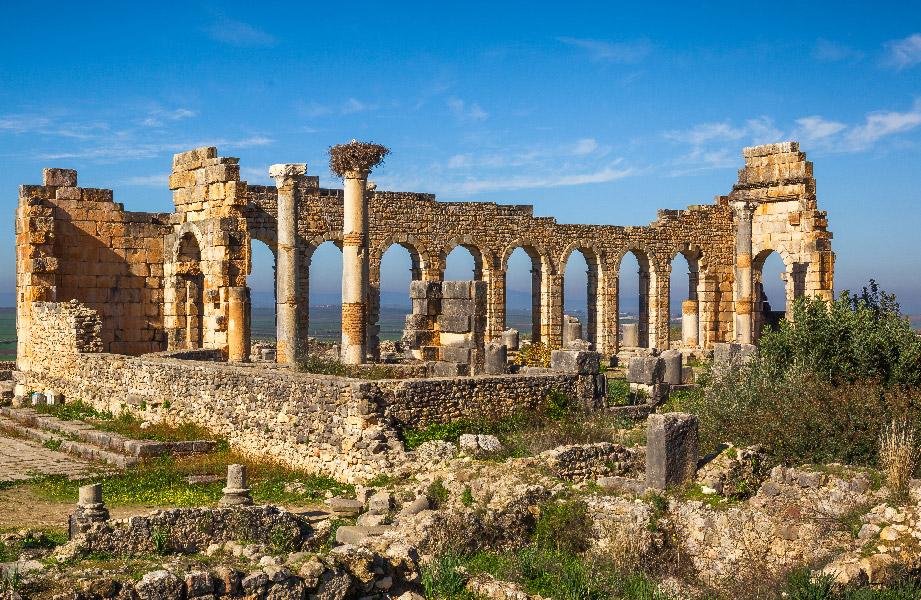 Basilica Volubilis Morocco