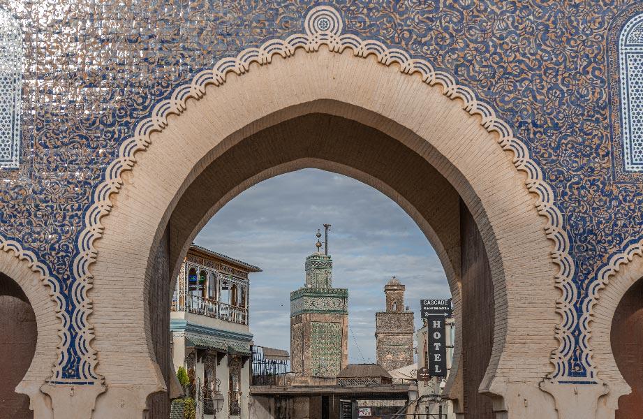 monumental gates of Fez